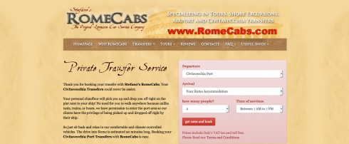 Civitavecchia Transfers with Stefano's RomeCabs