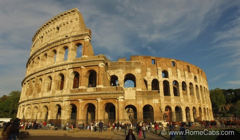 COLOSSEUM - What to do in Rome pre-Cruise? - RomeCabs