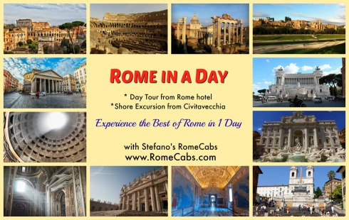 ROME IN A DAY TOUR - What to do in Rome pre-Cruise? - RomeCabs