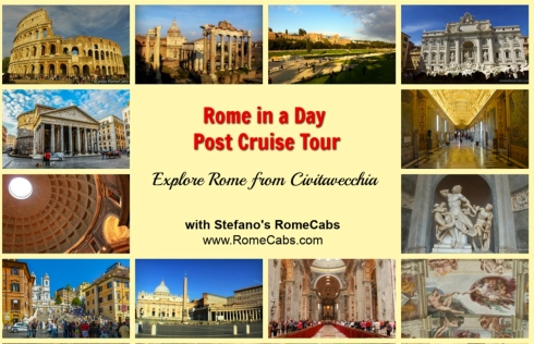 ROME IN A DAY POST CRUISE TOUR -  What to do in Rome pre-Cruise? - RomeCabs