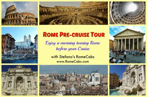 ROME PRE CRUISE TOUR -What to do in Rome pre-Cruise? - RomeCabs