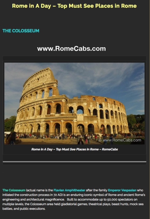 Rome in A Day Top Must See Places in Rome