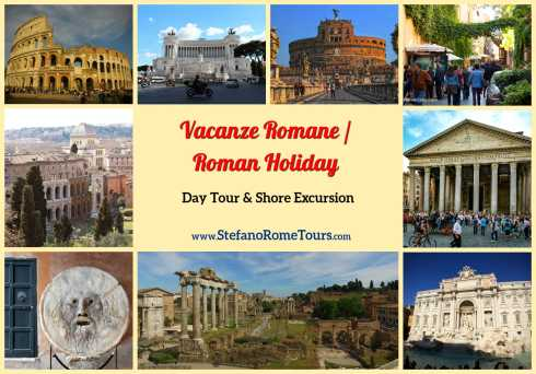 Tours from Civitavecchia - VACANZE ROMANE / ROMAN HOLIDAY TOUR