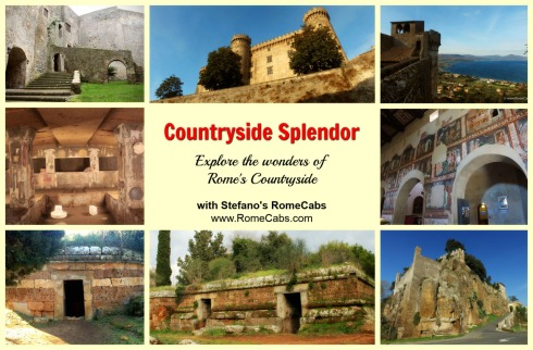 Day Trips from Civitavecchia I Rome, Countryside - COUNTRYSIDE SPLENDOR TOUR - RomeCabs