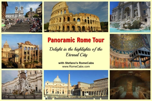 Day Trips from Civitavecchia I Rome, Countryside - PANORAMIC ROME TOUR -RomeCabs