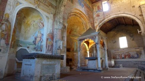 Day Trips from Civitavecchia I Rome, Countryside - Tuscania Santa Maria Maggiore