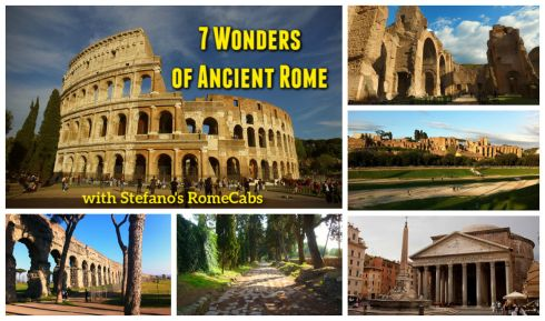 Day Trips from Civitavecchia I Rome, Countryside - SEVEN WONDERS OF ANCIENT ROME TOUR - RomeCabs