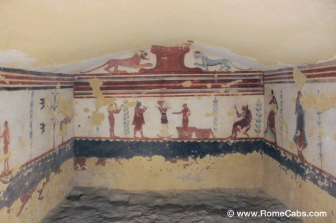 Day Trips from Civitavecchia I Rome, Countryside - TARQUINIA ETRUSCAN TOMBS - RomeCabs